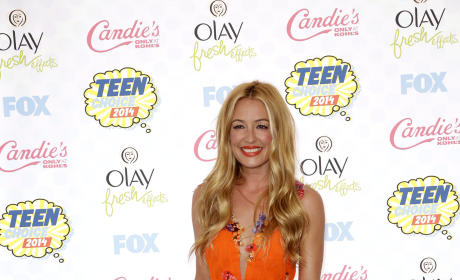 Cat Deeley at the Teen Choice Awards