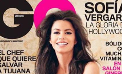 Sofia Vergara, Breasts Cover GQ Mexico