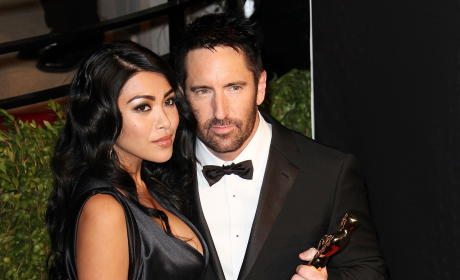 Trent Reznor and Mariqueen Maandig: Married!