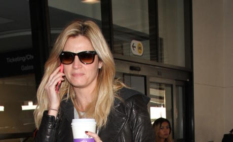Erin Andrews Lands at LAX