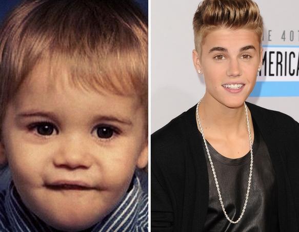 Justin Bieber as a Kid
