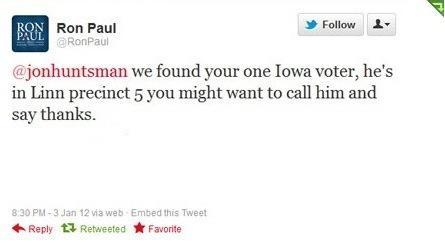 Hilarious Paul Tweet