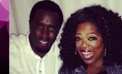 Kim Kardashian Chills with Oprah at Pre-Emmys Party