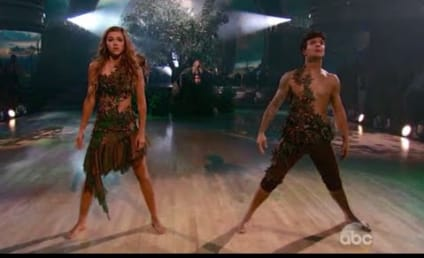 Sadie Robertson, Mark Ballas Channel Adam and Eve, Get Biblical on Dancing With the Stars