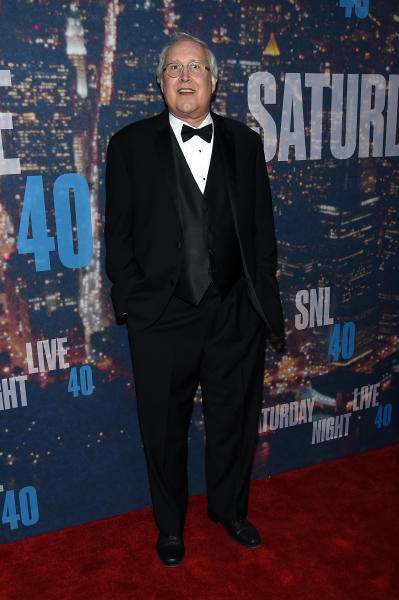 Chevy Chase in a Tuxedo