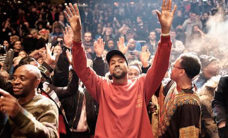 Kanye West At Yeezy Season 3 Debut