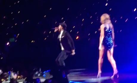 "Taylor Swift Duets on ""Mirrors"" with Justin Timberlake"