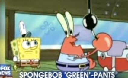 SpongeBob Promotes Global Warming Awareness, Fox News Far From Pleased