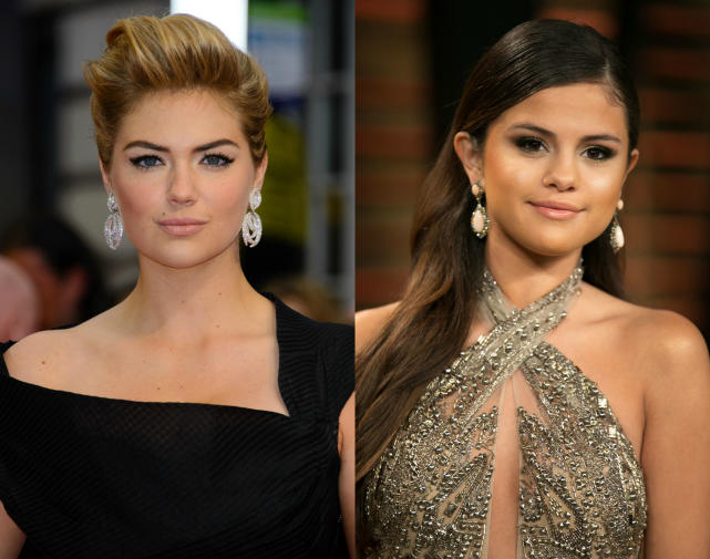 Kate Upton and Selena Gomez