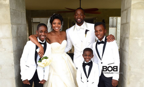 Gabrielle Union Wedding Dress