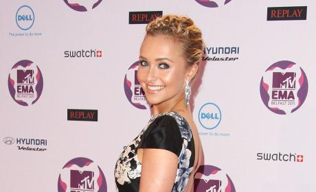 Hayden Panettiere Announces Golden Globe Nominees