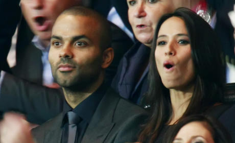Axelle Francine and Tony Parker