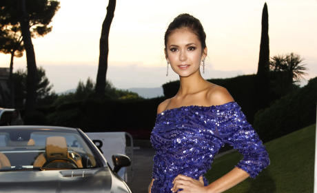 Nina Dobrev in Cannes