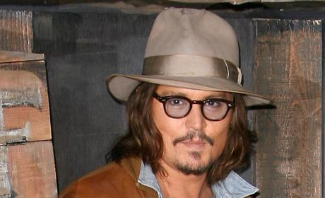 An Awkward On-Screen Kiss... For Depp