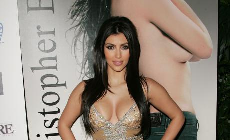 Kim Kardashian Celebrates Her Birthday at Les Deux