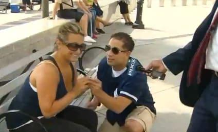 Alex Rodriguez Sucks It Up in Yankee Stadium Return, Fans Get Engaged on Camera