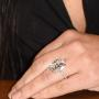 Kim Kardashian Engagement Ring Detail The Grove