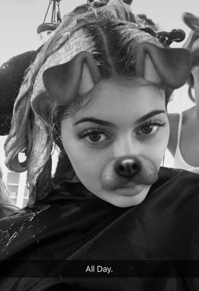 Kylie Jenner All Foiled Up