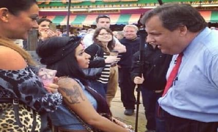 Snooki and Chris Christie: The Most Awkward Jersey Shore Meeting Ever!