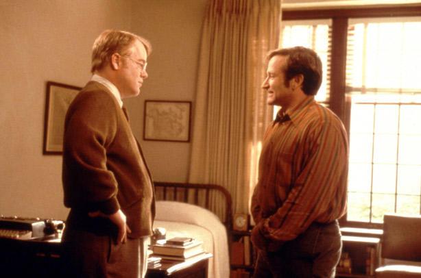 Robin Williams and Philip Seymour Hoffman