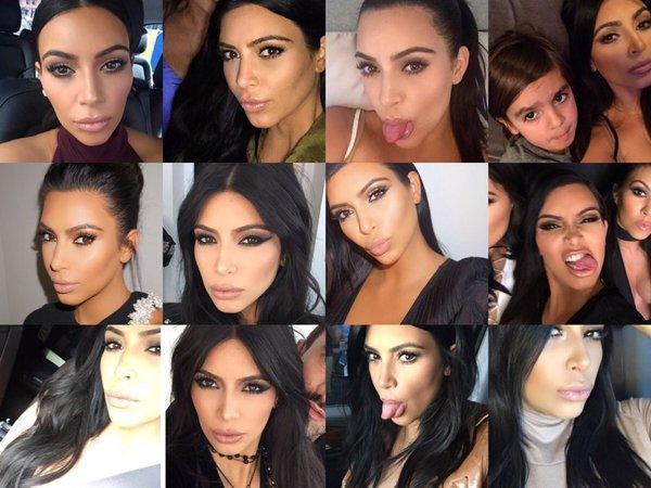 The Funny Faces of Kim Kardashian