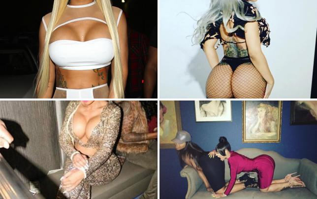 Blac chyna tattoos