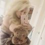 Courtney Stodden and a Bear