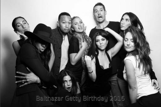 Kourtney Kardashian, Chrissy Teigen, Jenna Dewan-Tatum, Kelly Rowland, Minka Kelly and John Legend