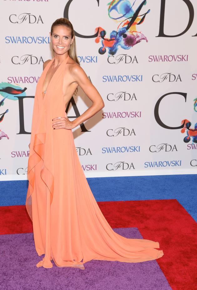 Heidi Klum at Fashion Awards