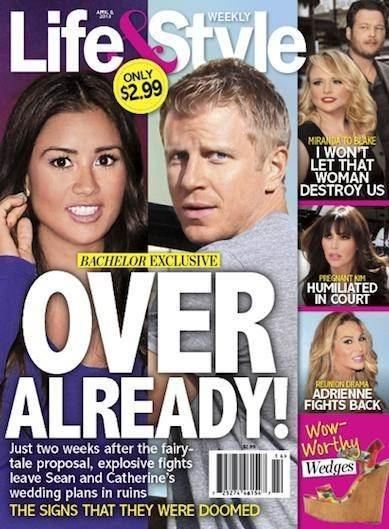 Sean Lowe and Catherine Guidici Breakup?