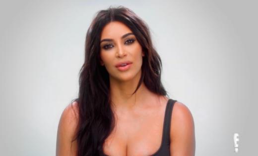 Kim Kardashian to the Camera