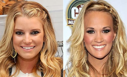 Celebrity Hairstyle Showdown: Jessica Simpson vs. Carrie Underwood
