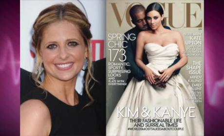 Sarah Michelle Gellar SLAMS Kim Kardashian Vogue Cover: Canceling My Subscription!