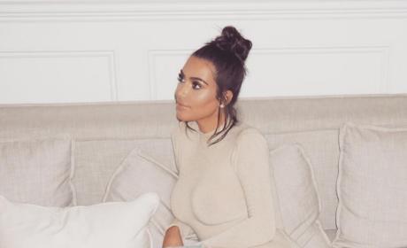 Kim Kardashian, Just Chilling