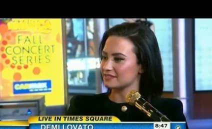 "Demi Lovato Expresses ""Confidence"" on Good Morning America"
