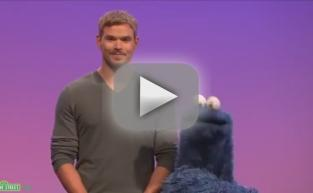 Kellan Lutz on Sesame Street