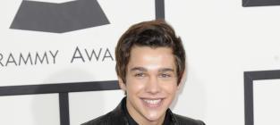 Austin Mahone at the Grammys