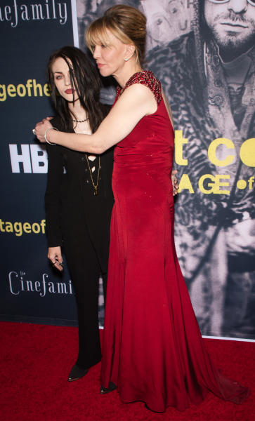 Courtney Love, Frances Bean Cobain Photo