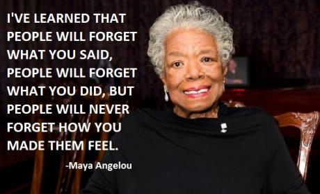 Maya Angelou: Mourned, Remembered on Twitter