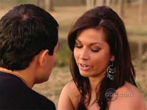 Jason and Melissa on The Bachelor