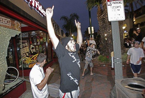 Huntington Beach Riot Suspect