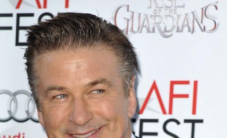 Alec Baldwin Smiles