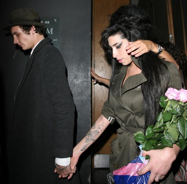 A Blake Fielder-Civil and Amy Winehouse Photo