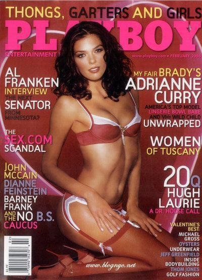 Adrianne Curry in Playboy
