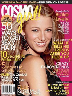 Blake Lively in Cosmo Girl
