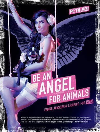 Famke Janssen, PETA Style