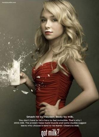 Hayden Panettiere in Got Milk Ad