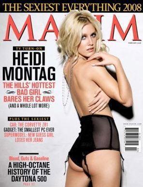 Heidi Montag: Maxim