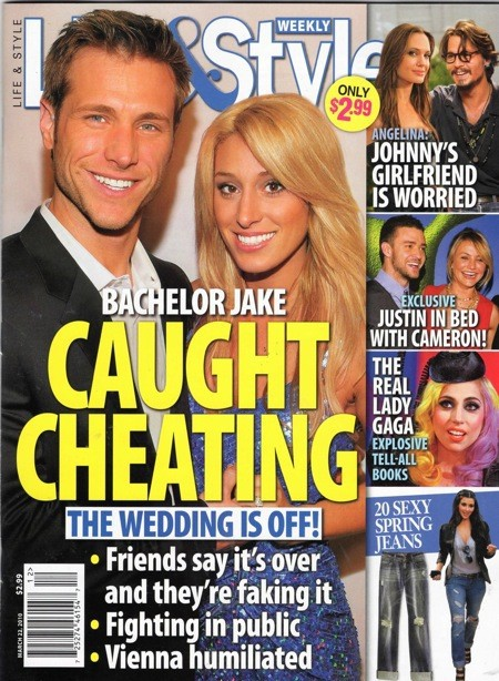 Jake and Vienna: Cheating!