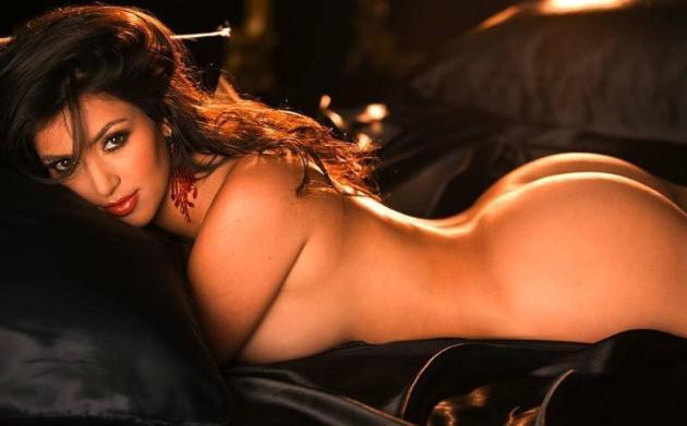Kim Kardashian Playboy Picture